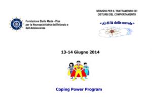 Coping Power Program (corso ECM) @ Auditorium IRCCS Fondazione Stella Maris | Marina di Pisa-tirrenia-calambr | Toscana | Italia