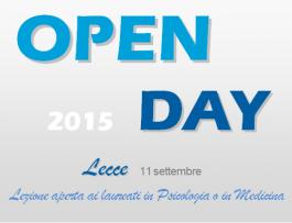 open day lecce