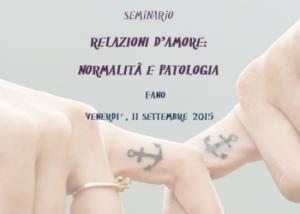 Relazioni d'amore: normalità e patologia @ c/o Mediateca Montanari - ME.MO | Fano | Marche | Italia