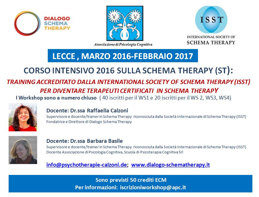 lecce schema therapy
