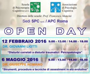 Open Day - Roma @ Scuola di Psicoterapia Cognitiva S.r.L. | Roma | Lazio | Italia