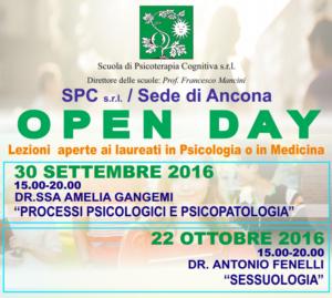 Open Day - Ancona @ Scuola di Psicoterapia Cognitiva S.r.L. sede di Ancona   Ancona   Marche   Italia