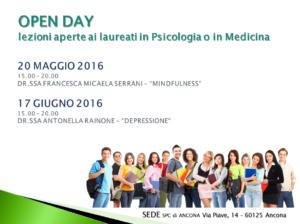 Open Day - Ancona @ Scuola di Psicoterapia Cognitiva S.r.L. sede di Ancona | Ancona | Marche | Italia