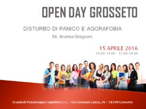 Open Day - Grosseto @ Scuola di Psicoterapia S.r.L. sede di Grosseto   Grosseto   Toscana   Italia