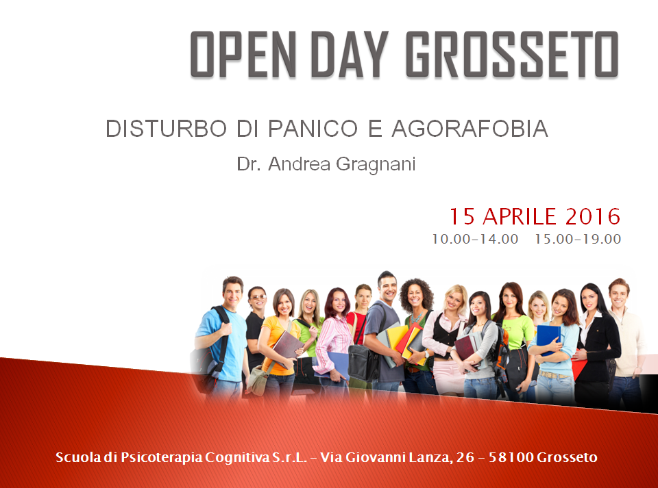 open day grosseto 15 aprile 2016