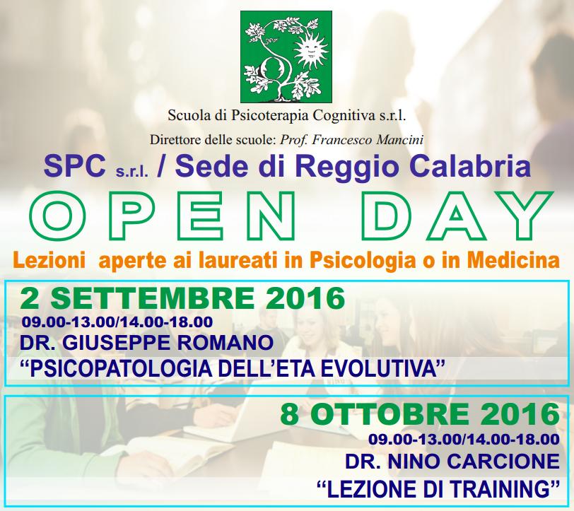 open day reggio 2-9 8-10