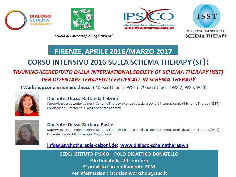 widget schema therapy firenze