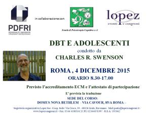 DBT e adolescenti (corso ECM) @ Domus Nuova Bethlem | Roma | Lazio | Italia
