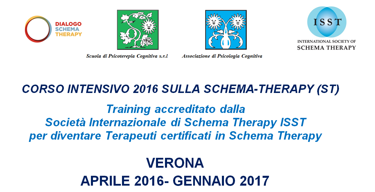 schema therapy verona 2016-2017