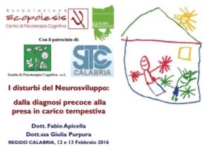 I disturbi del Neurosviluppo: dalla diagnosi precoce alla presa in carico tempestiva @ Associazione Ecopoiesis | Reggio Calabria | Calabria | Italia