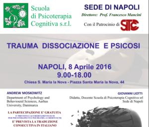 Napoli, Simposio: Trauma, dissociazione e psicosi (ECM) @ Chiesa S. Maria la Nova | Napoli | Campania | Italia