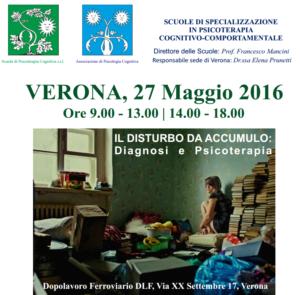 Il disturbo da accumulo: diagnosi e psicoterapia (Corso ECM) @ c/o DLF dopolavoro ferroviario  | Verona | Veneto | Italia