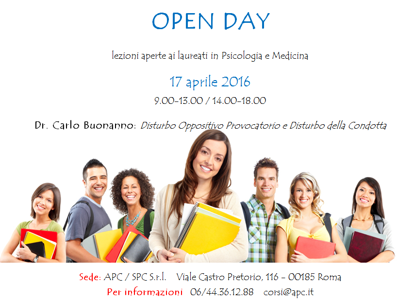 Roma, Open Day