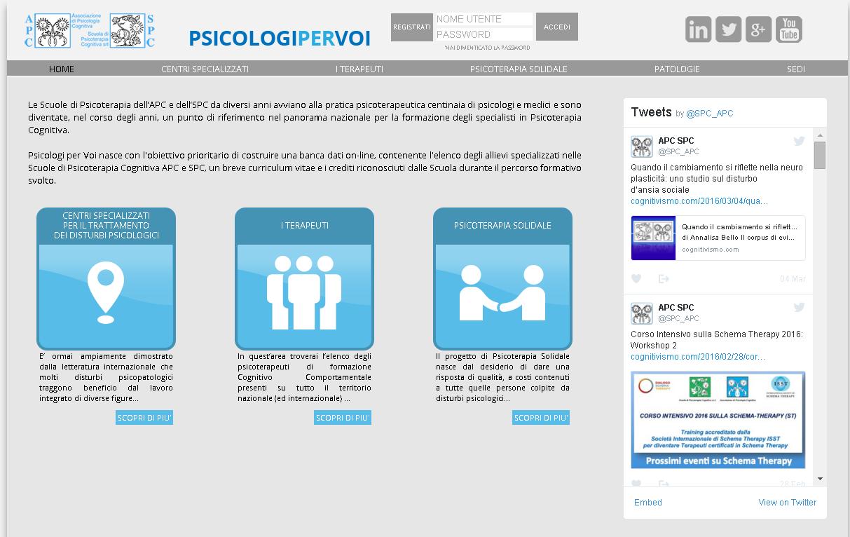 psicologi per voi home