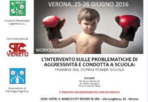 Verona, Coping Power Scuola (corso ECM) @ hotel S. Marco City Resort & SPA | Verona | Veneto | Italia