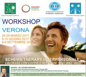 Schema Therapy interpersonale: lavorare con coppie e relazioni (corso ECM) @ Scuola di Psicoterapia Cognitiva S.r.L. sede di Verona   Verona   Veneto   Italia