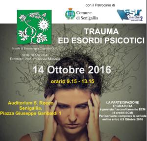Trauma ed esordi psicotici @ Auditorium S. Rocco  | Senigallia | Marche | Italia