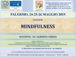 Palermo, Mindfulness (corso ECM) @ I.G.B. Scuola di Psicoterapia Cognitiva S.r.L. sede di Palermo
