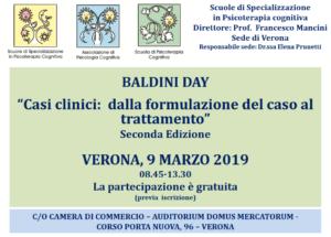 """Verona, Baldini day - """"Casi clinici: dalla formulazione del caso al trattamento"""" seconda edizione @ c/o Camera di Commercio - Auditorium Domus Mercatorum"""