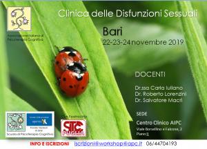 Bari, Clinica delle Disfunzioni Sessuali (corso ECM) @ Centro Clinico AIPC