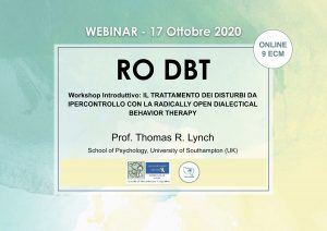 WEBINAR - RO DBT - workshop introduttivo: Il trattamento dei disturbi da ipercontrollo con la radically open dialectical behavior therapy (corso ECM) @ MODALITA' WEBINAR