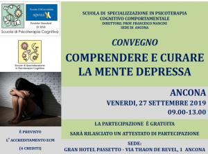 Ancona, Comprendere e curare la mente depressa (corso ECM) @ c/o Grand Hotel Passetto