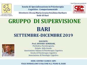 Bari, Gruppo di supervisione @ c/o Centro Clinico AIPC