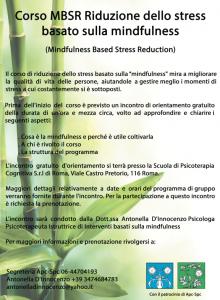 Roma, Corso MBSR Riduzione dello stress basato sulla mindfulness @ Scuola di Psicoterapia Cognitiva S.r.L. sede di Roma