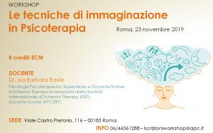 Roma, Le tecniche di immaginazione in psicoterapia (corso ECM) @ Scuola di Psicoterapia Cognitiva S.r.L. sede di Roma