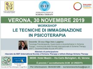 Verona, Le tecniche di immaginazione in psicoterapia (corso ECM) @ c/o Hotel Maxim