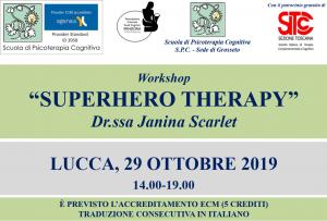 Lucca, Superhero Therapy (corso ECM) @ c/o Auditorium San Micheletto