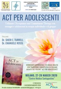 Milano, ACT per adolescenti - Utilizzare l'acceptance and Commitment Therapy con teenager e adolescenti in terapia individuale e di gruppo (corso ECM) @ c/o Centro Medico Santagostino