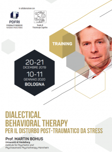Bologna, Dialectical Behavioral Therapy per il disturbo post- traumatico da stress (corso ECM) @ c/o Zanhotel Europa