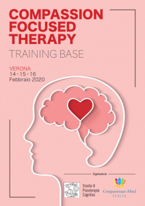 Verona, Compassion Focused Therapy - training di base (corso ECM) @ Scuola di Psicoterapia Cognitiva S.r.L.