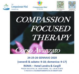 Roma, Compassion Focused Therapy - corso avanzato (corso ECM) @ c/o Hotel Londra & Cargill