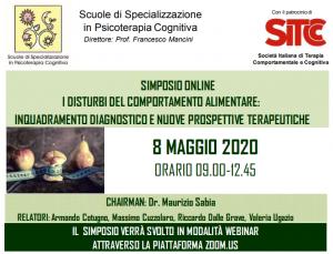 SIMPOSIO WEBINAR - I disturbi del comportamento alimentare: inquadramento diagnostico e nuove prospettive terapeutiche @ MODALITA' WEBINAR