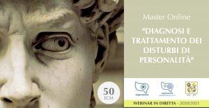 MASTER ANNUALE ON LINE - DIAGNOSI E TRATTAMENTO DI DISTURBI DI PERSONALITÀ (corso ECM) @ MODALITA' WEBINAR