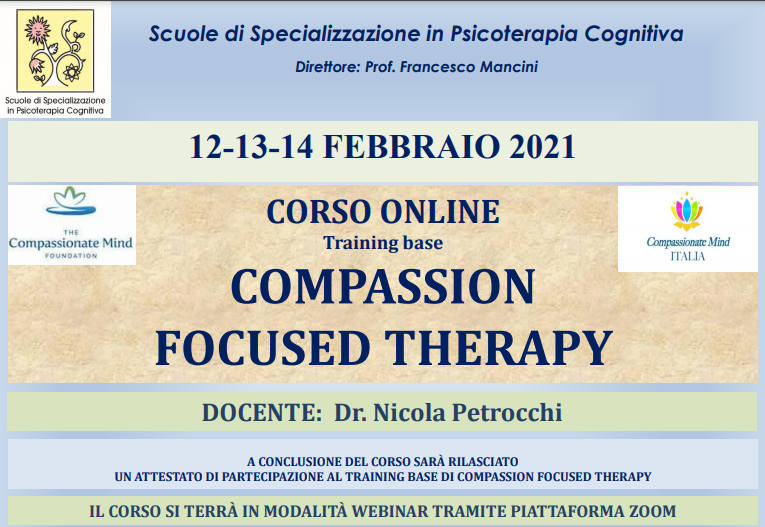COMPASSION FOCUSED THERAPY - Training base