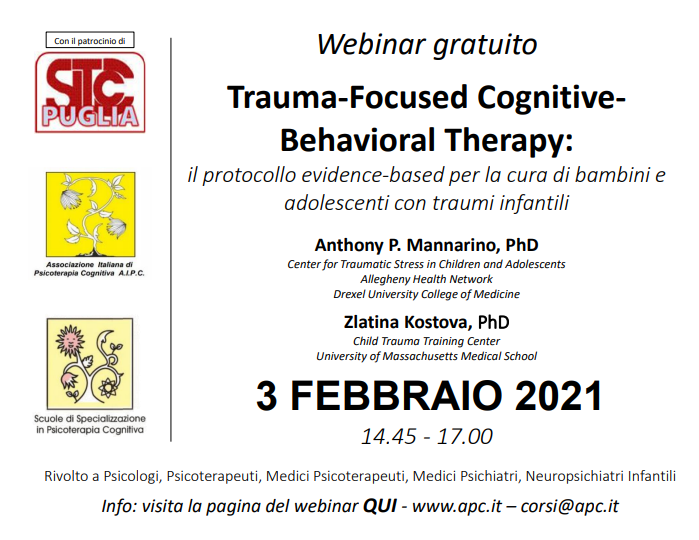 Trauma-Focused CognitiveBehavioral Therapy: il protocollo evidence-based per la cura di bambini e adolescenti con traumi infantili