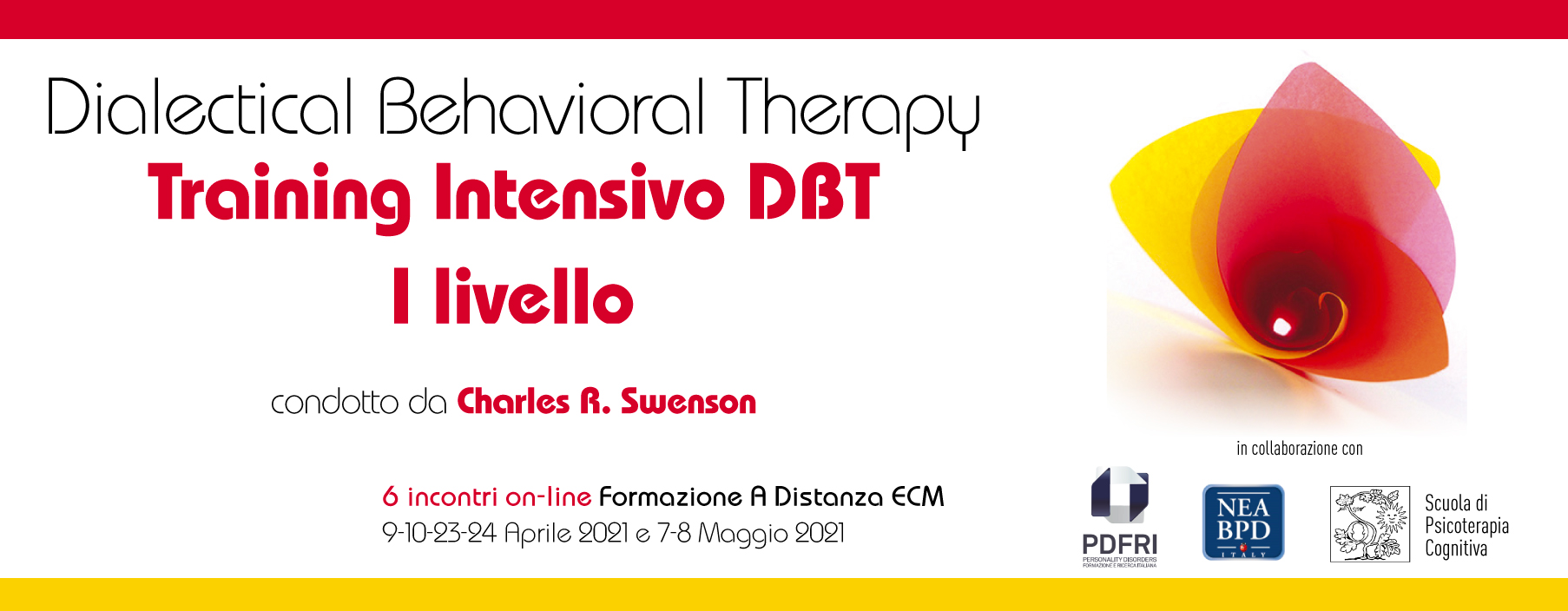 DIALECTICAL BEHAVIORAL THERAPY TRAINING INTENSIVO I LIVELLO