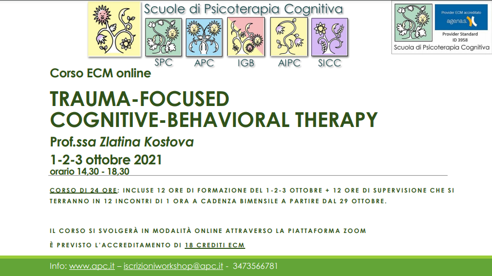 TRAUMA-FOCUSED COGNITIVE-BEHAVIORAL THERAPY